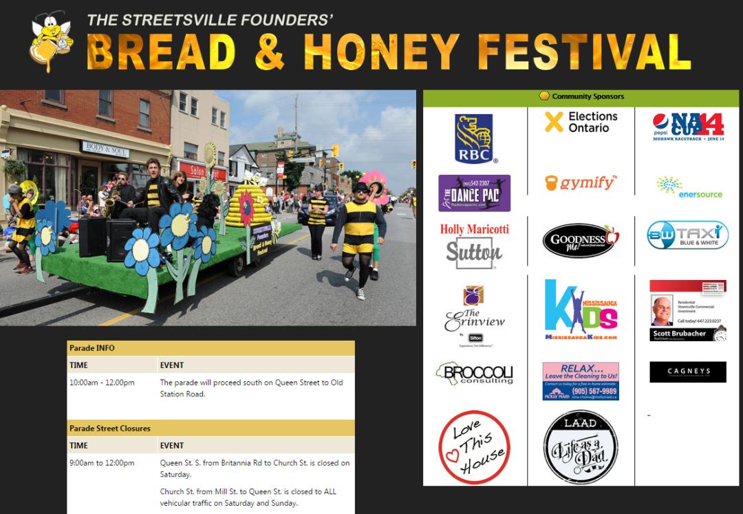 bread and honey parade